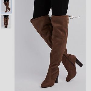 Wide Width Over the Knee Boots
